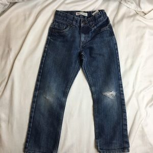 Levi 511 Jeans Size 6 Cool Distressed Look
